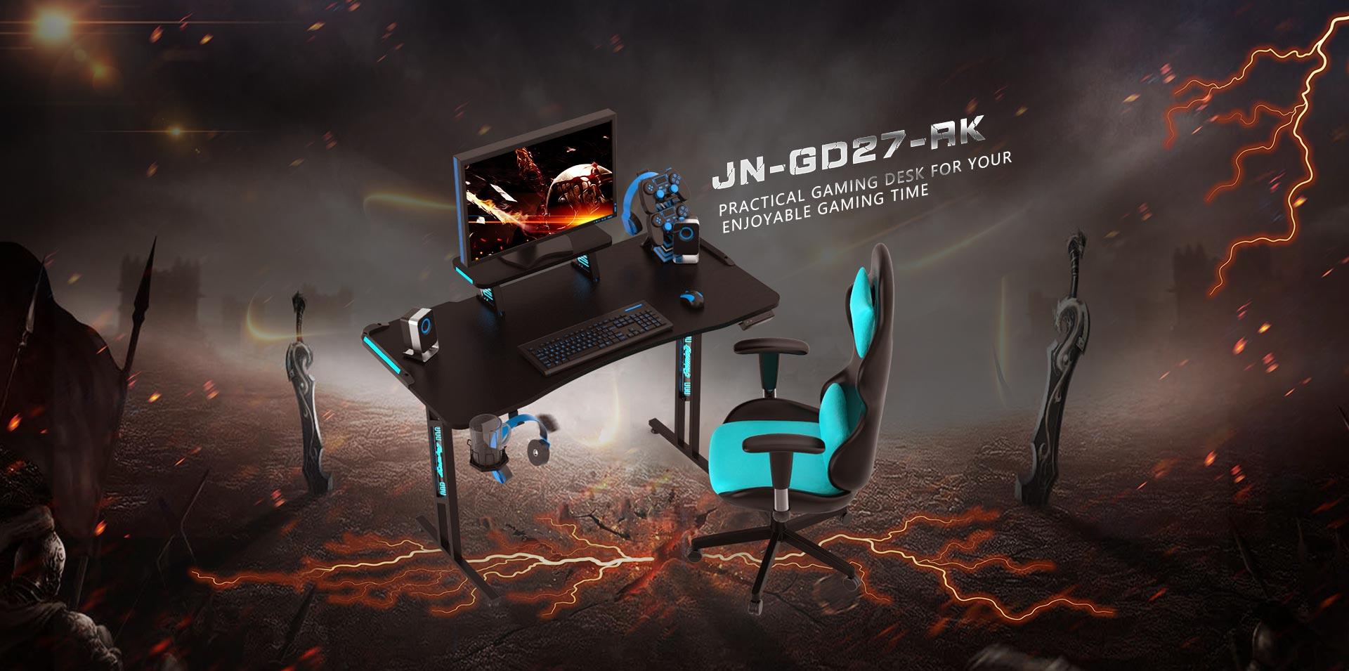 Height Adjustable Gaming Desk OEM