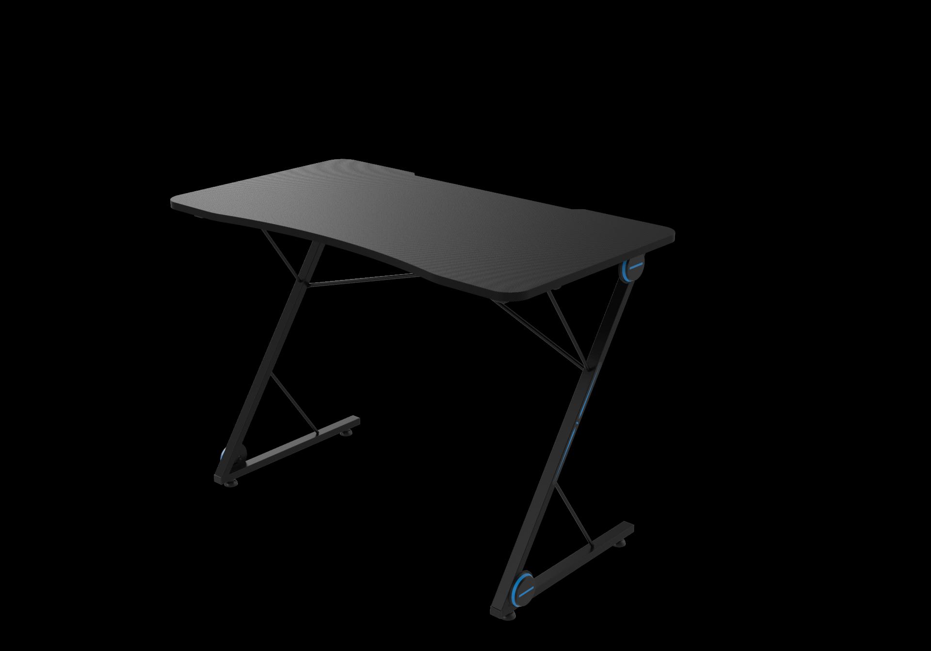 pc gaming desk led