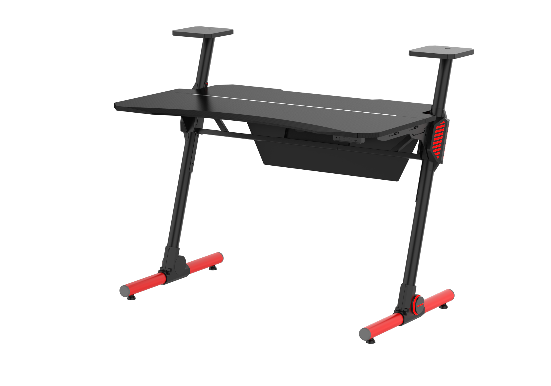 adjustable gaming desk