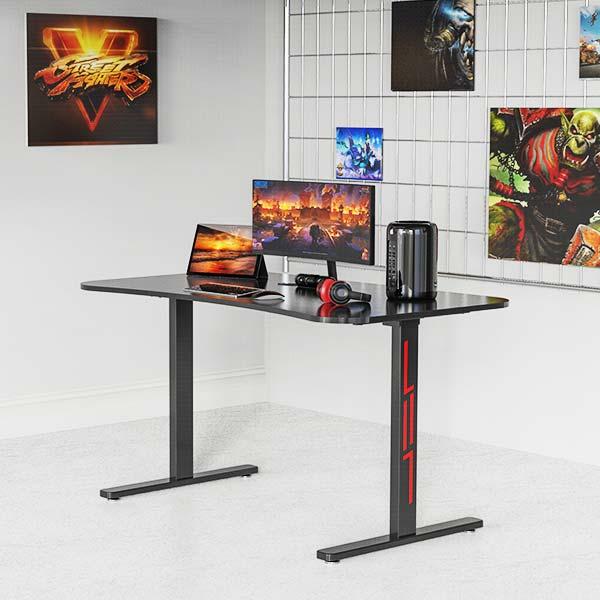 modern gaming desk