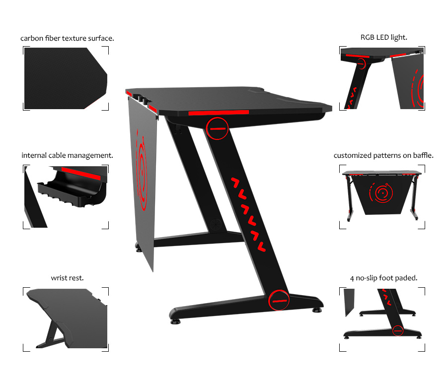 custom gaming desk