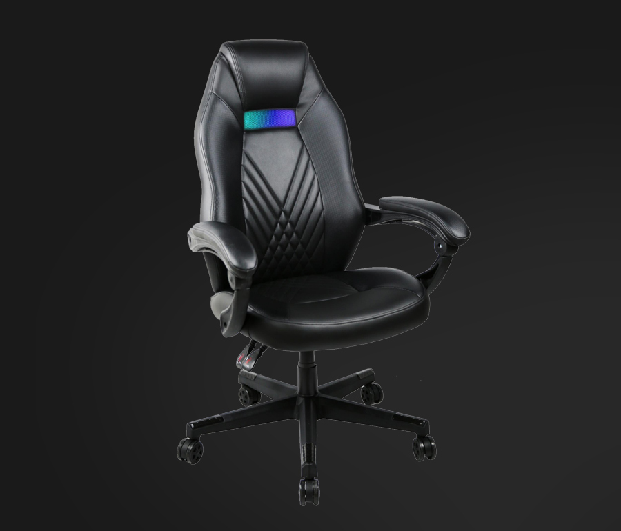 green gaming chair