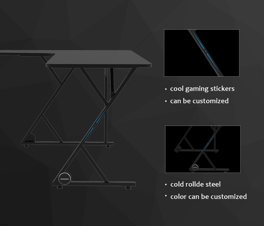 good l shaped desk for gaming