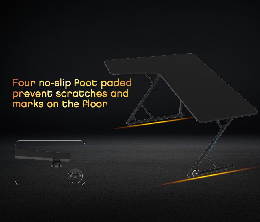 u shaped gaming desk