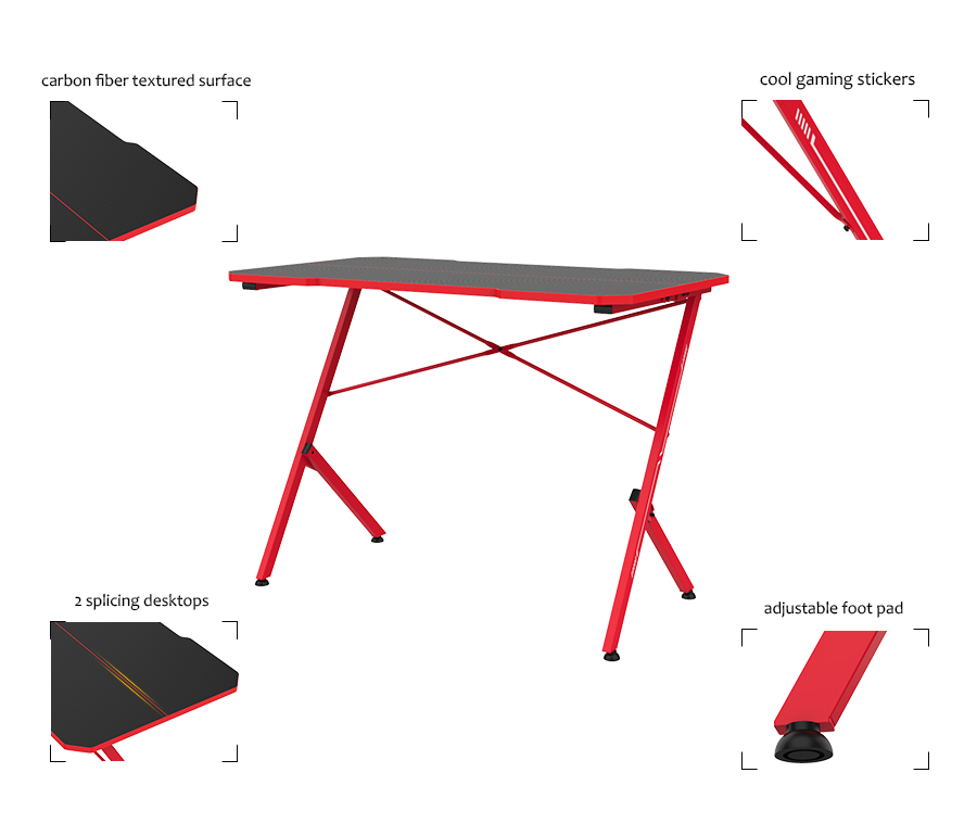 game table pc desk