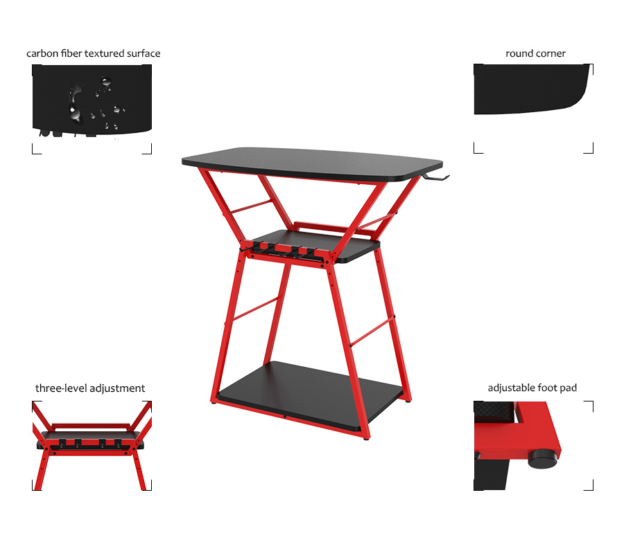 gaming tv stand table xbox