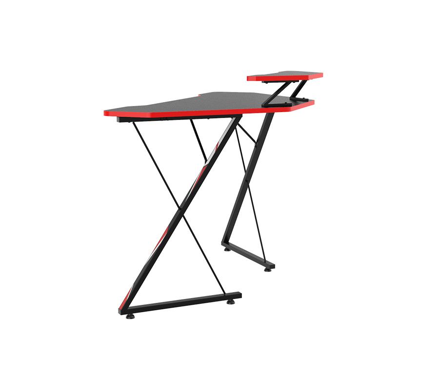 l shaped desk setup