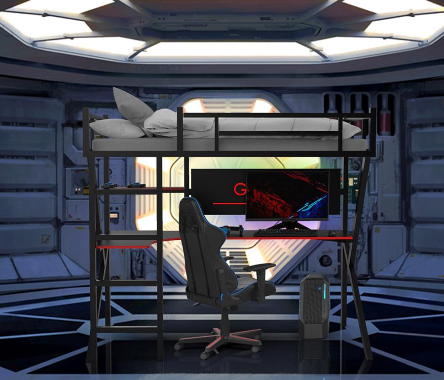gaming bunk bed