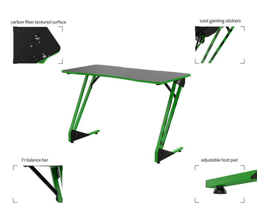 ergonomic desk setup