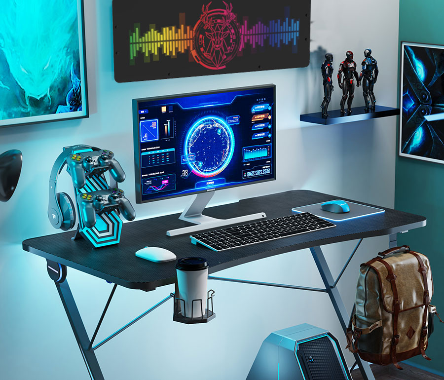 ps4 gaming desk